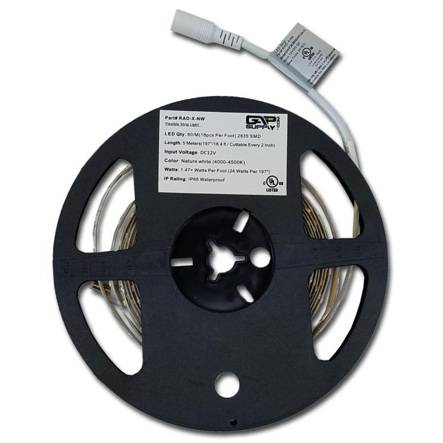 Gap Supply 16 In Hardwired Plug Tape Light