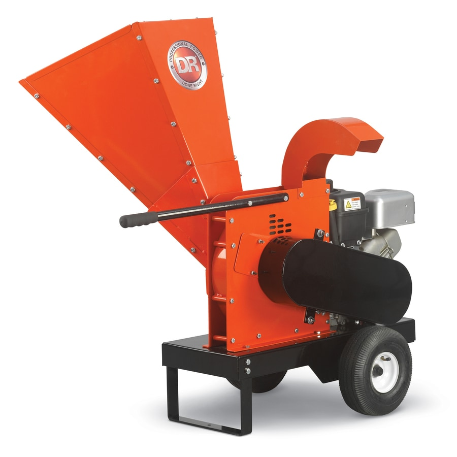 Dr Equipment 250 Cc Chromium Gas Wood Chipper At Lowes