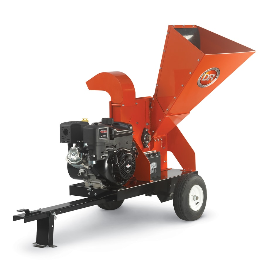 DR Power Equipment 420-cc Chromium Gas Wood Chipper