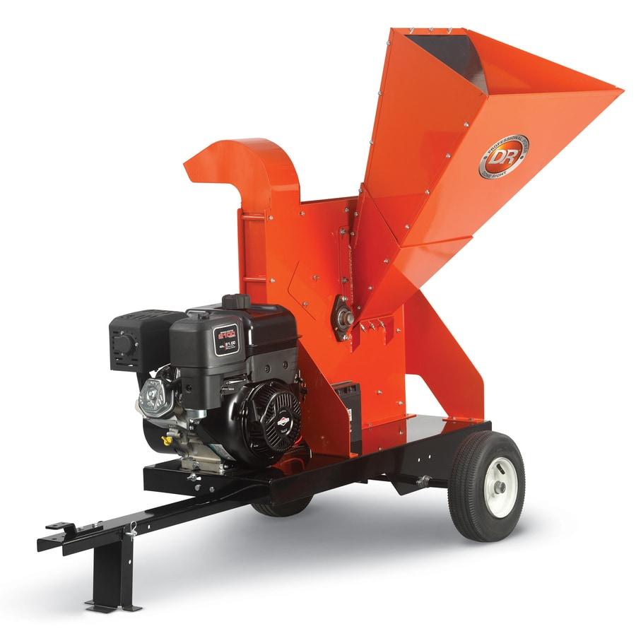 DR Power Equipment 420-cc Chromium Gas Wood Chipper