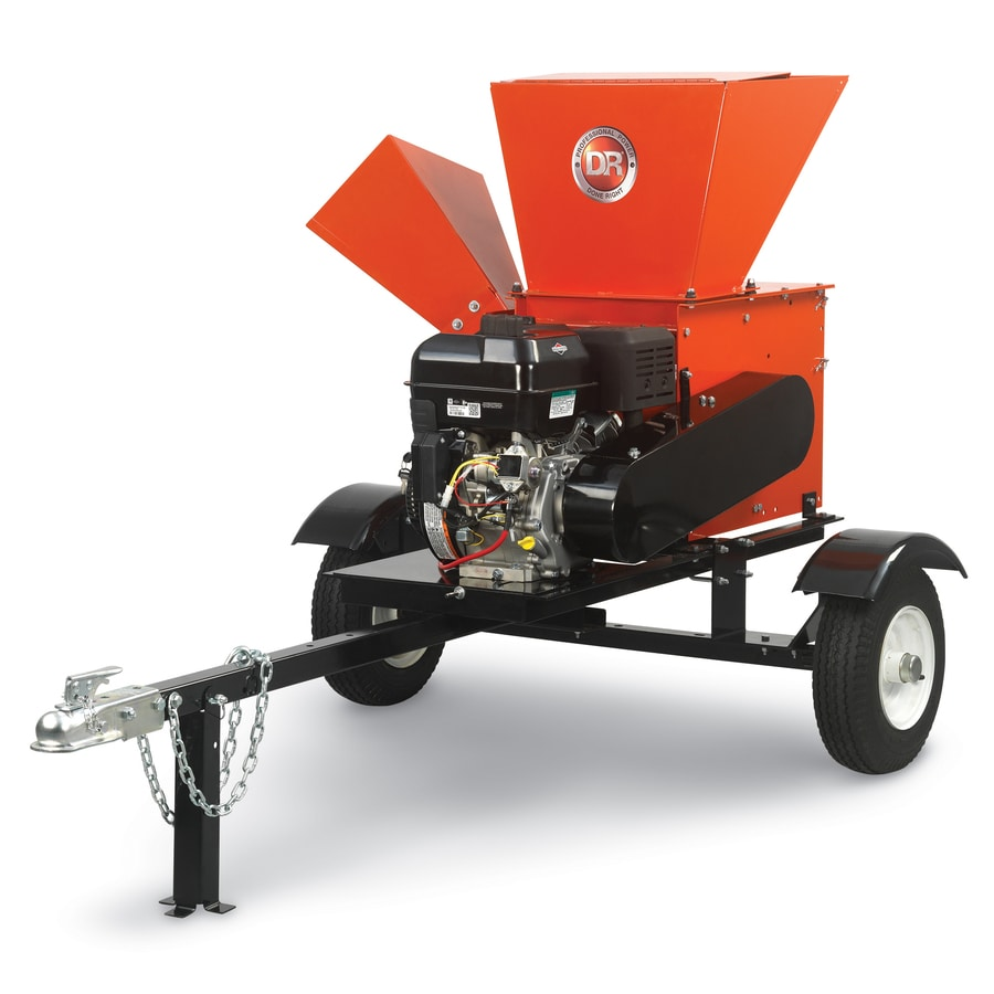 Shop DR Power Equipment 420cc Steel Gas Wood Chipper at ...