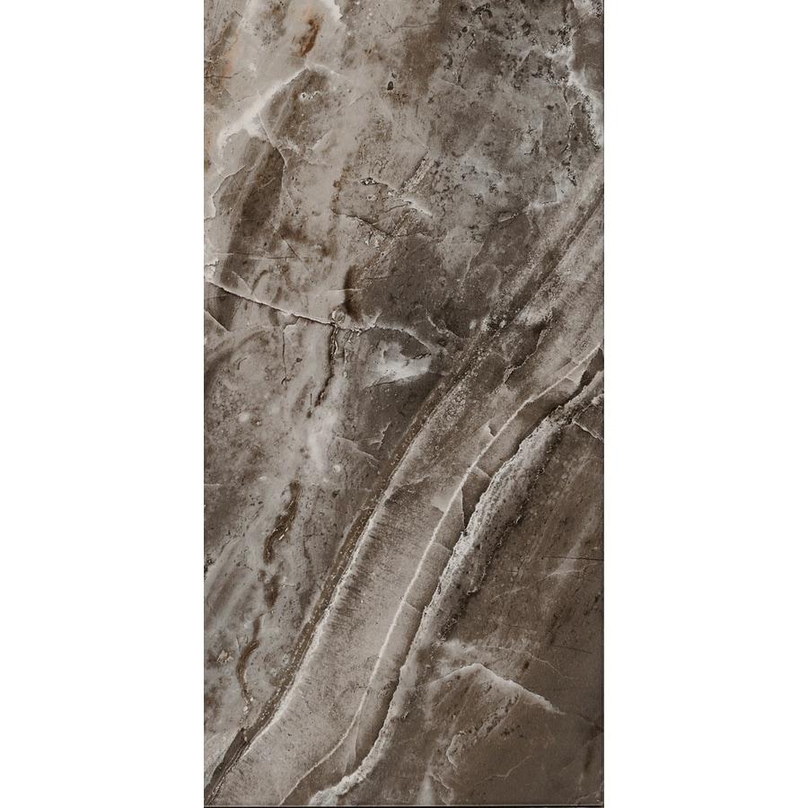 FLOORS 2000 Aura 6-Pack Marengo Porcelain Floor and Wall Tile (Common: 12-in x 24-in; Actual: 23.63-in x 11.81-in)