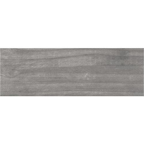 Ceramicas Tesany Acadia Grey Gray 8 In X 24 In Glazed Ceramic Wood