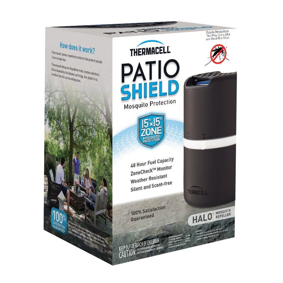 Thermacell Patio Shield Halo Mosquito Repeller Brown/Black