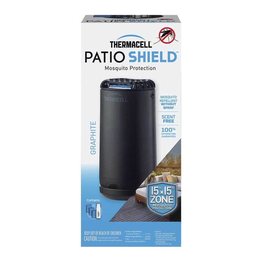 Thermacell Mini Patio Shield Graphite Mosquito Repellent ...
