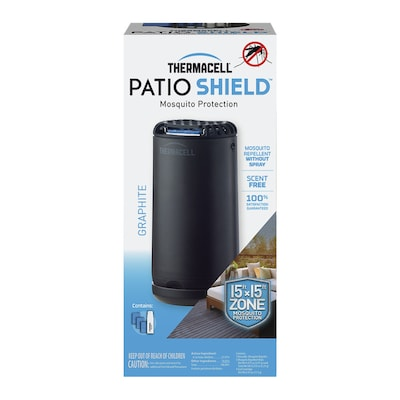 Thermacell Mini Patio Shield Graphite Mosquito Repellent At Lowes Com