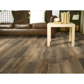 Style Selections Natural Timber Cinnamon 6 In X 24 In