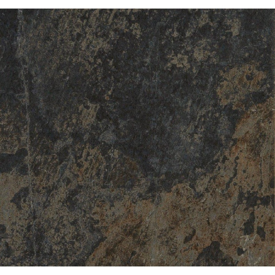 Style Selections Aspen Sunset Porcelain Slate Floor and Wall Tile (Common: 18-in x 18-in; Actual: 17.87-in x 17.87-in)
