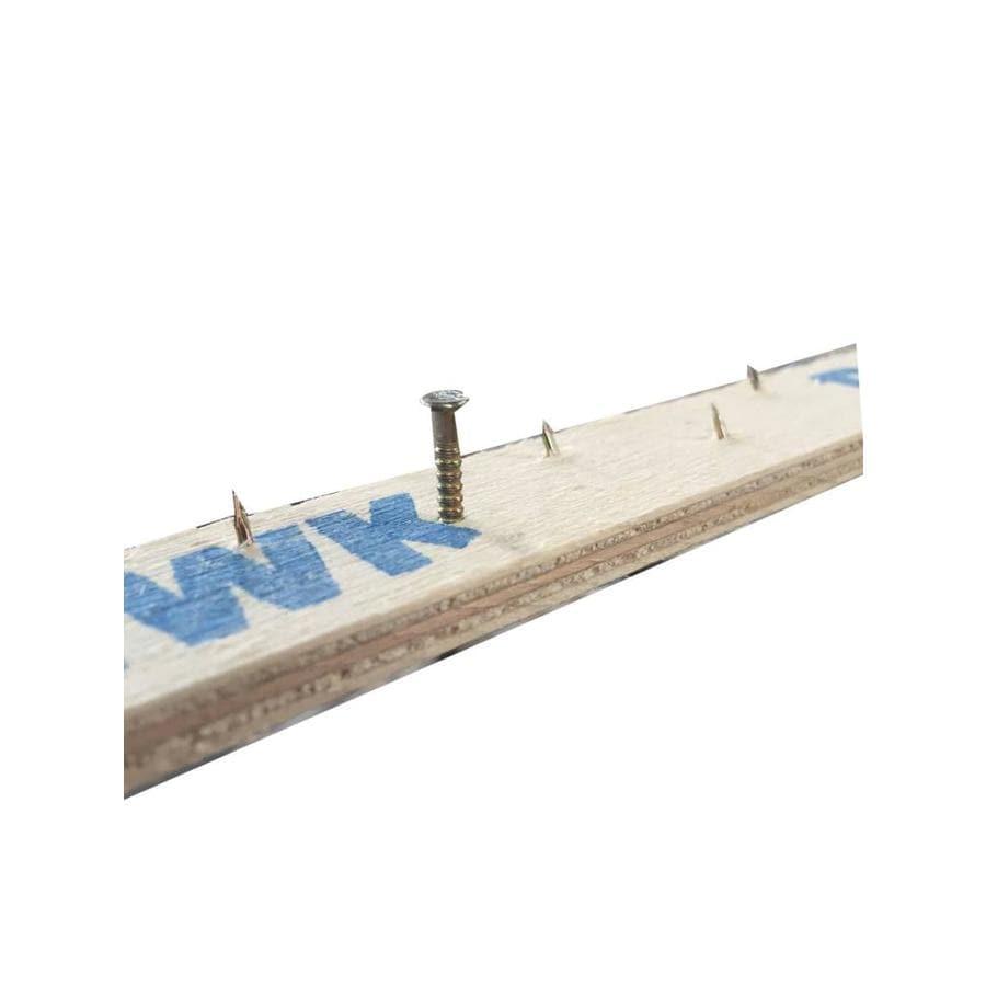 Blue Hawk Wood Tack Strip Wood Nail (Carb) 100-Piece Strip Dimension