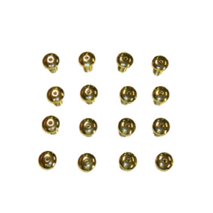 Laurel Mountain 16-Piece Colony Polished Brass Air Injector Trim Rings