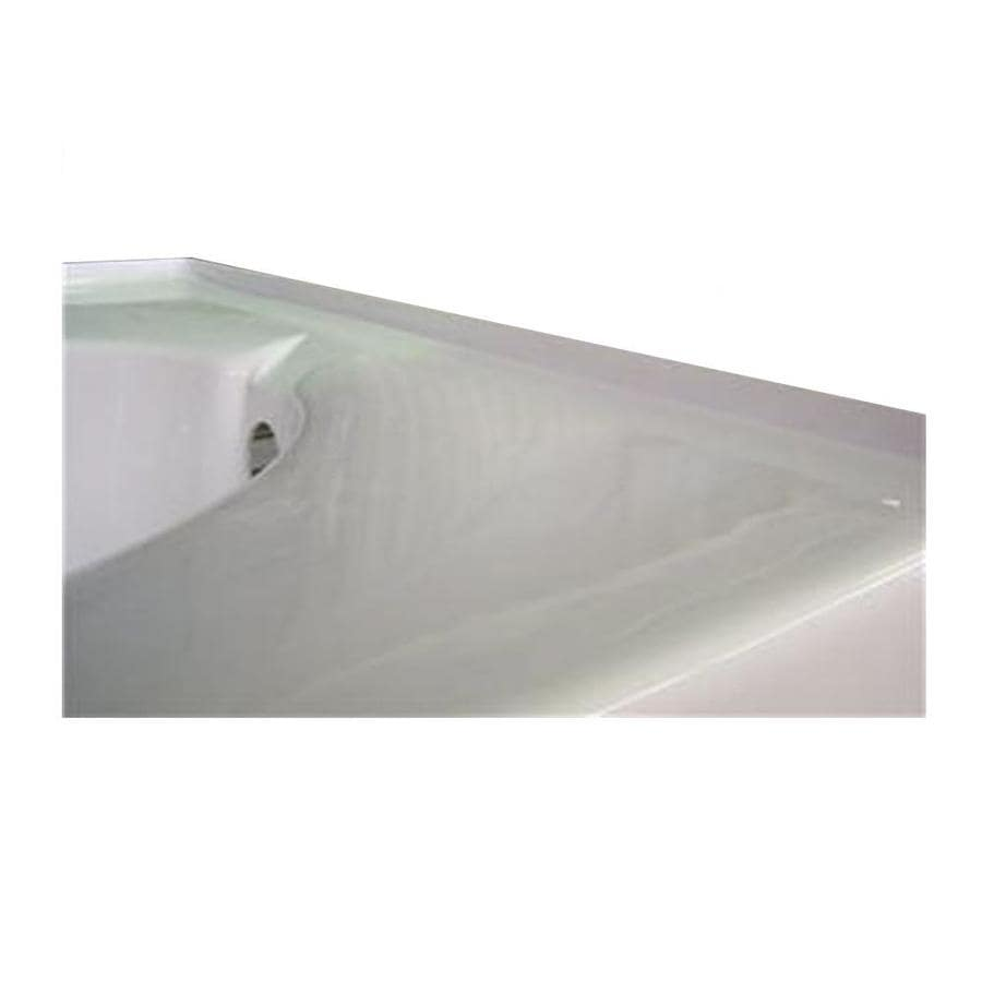 Laurel Mountain Integral Acrylic Tile Flange Left Hand Drain