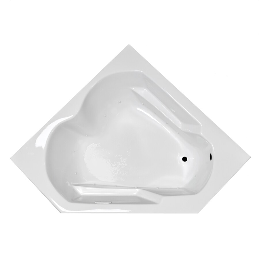 Shop Laurel Mountain Dual Corner Plus 59625 In White