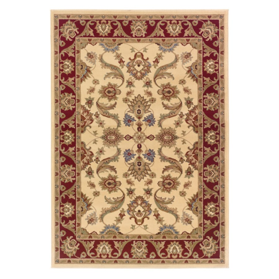 L.R. Resources Adana Rectangular Indoor Woven Area Rug