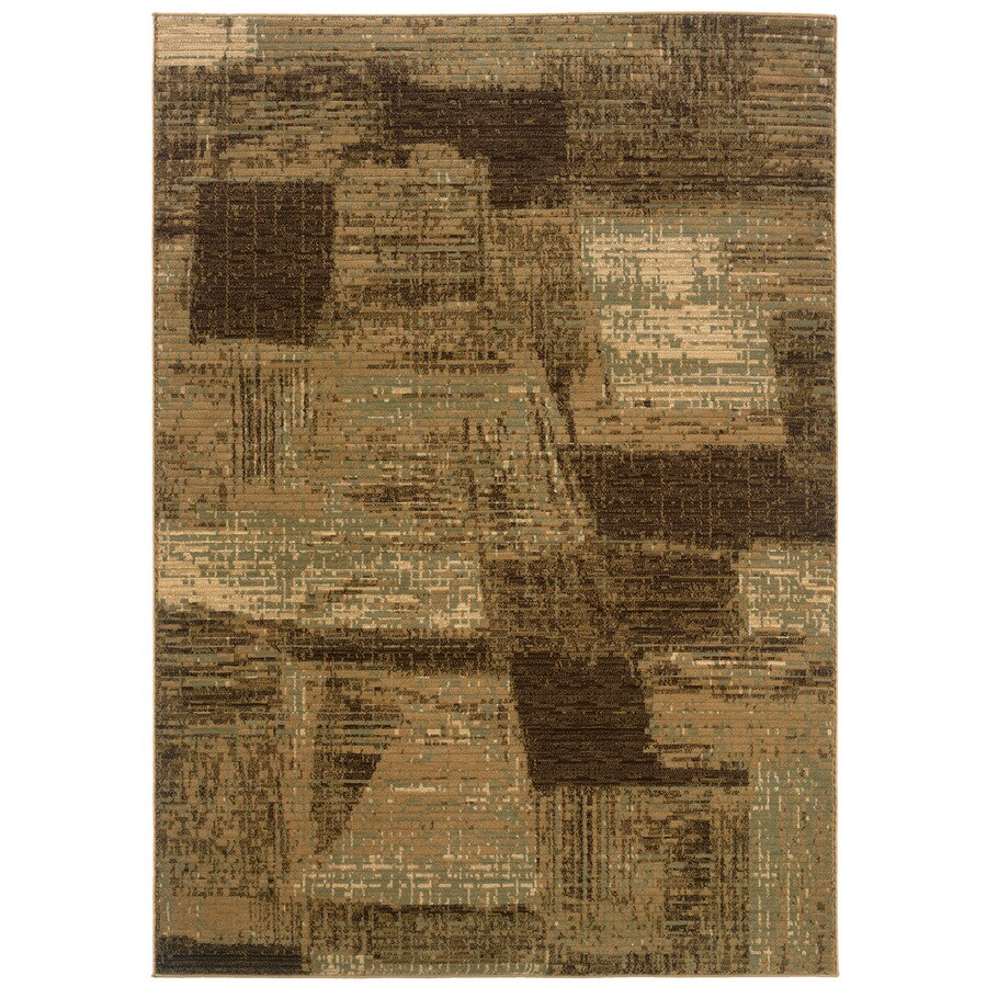 L.R. Resources Opulence Rectangular Indoor Woven Area Rug
