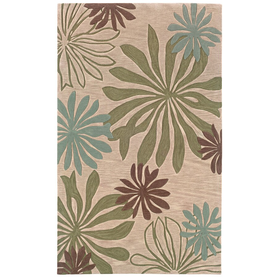 L.R. Resources Fashion Rectangular Indoor Tufted Area Rug (Common: 8 x 10; Actual: 95-in W x 119-in L)