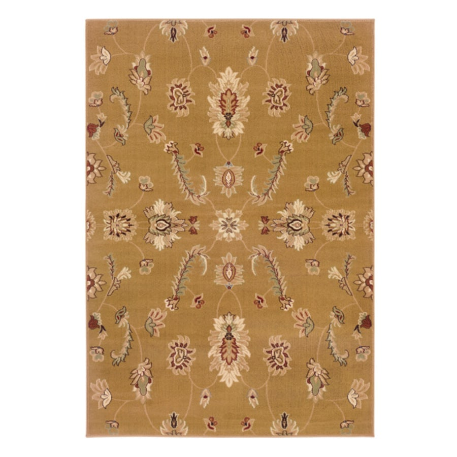 L.R. Resources Adana Rectangular Indoor Woven Area Rug (Common: 5 x 8; Actual: 64-in W x 90-in L)