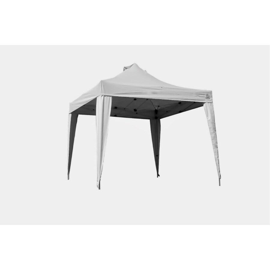 Undercover Commercial Shelter 10-ft W x 10-ft L Square Anodized Aluminum Aluminum  sc 1 st  Loweu0027s & Shop Undercover Commercial Shelter 10-ft W x 10-ft L Square ...