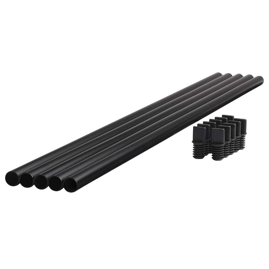Fiberon (Common: 2-in x 2-in x 30-in; Actual: 0.75-in x 0.75-in x 29.5-in) Horizon Black Metal (Not Wood) Deck Baluster