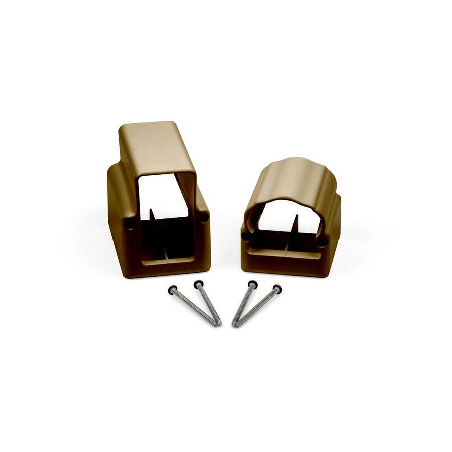 Fiberon Homeselect Brown PVC Stair Connector