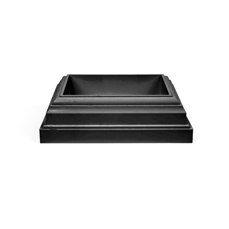 Fiberon Homeselect Midnight Black PVC Deck Post Base Trim