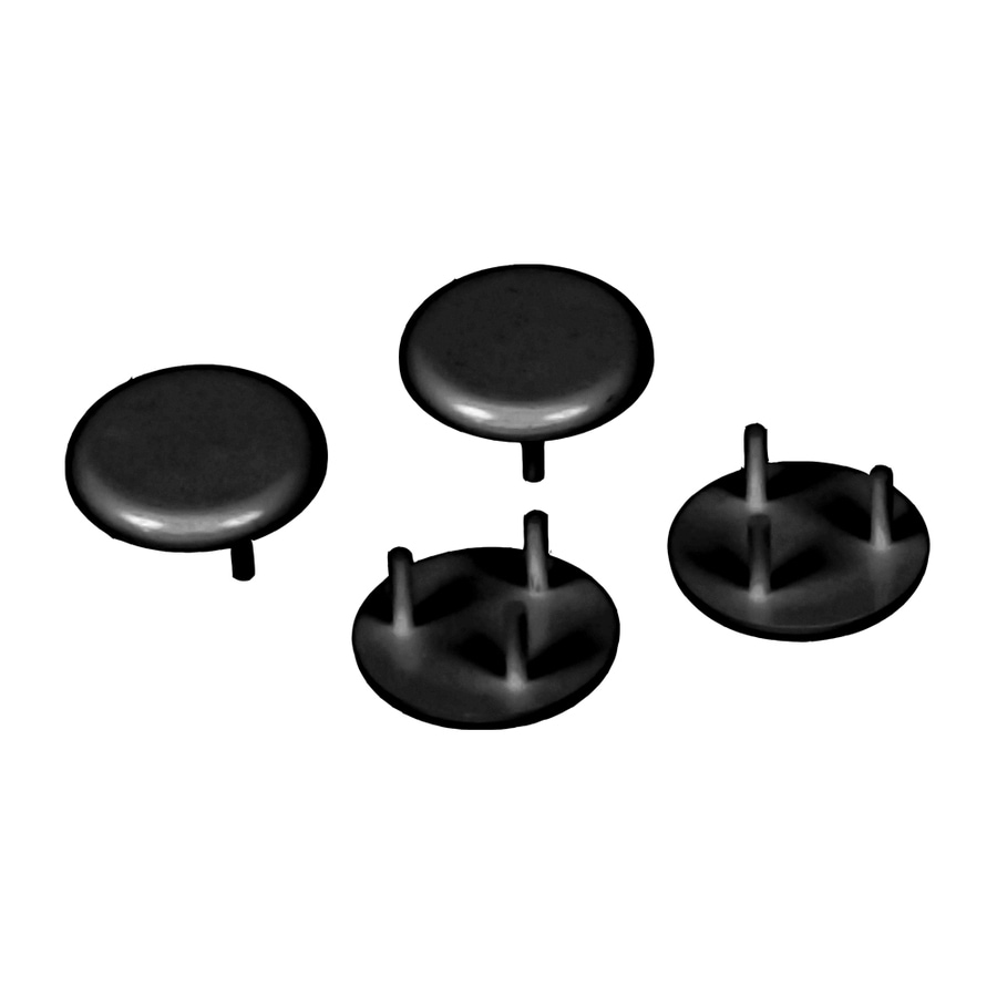 Fiberon ADA Rail End Cap 4pk Black