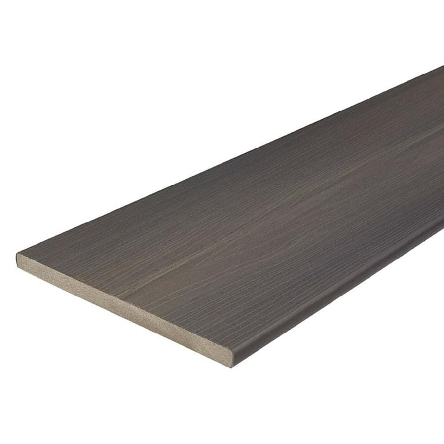 Shop fiberon protect advantage 12 ft gray birch composite for Fiberon ipe decking prices