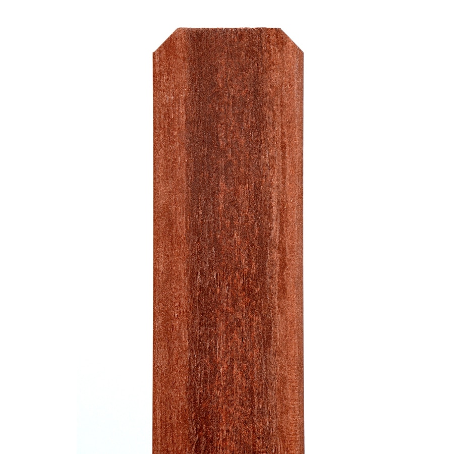 Fiberon Woodshades Rustic Redwood Composite Fence Picket (Common: 1/2-in x 5-in x 6-ft; Actual: 0.43-in x 4.6-in x 5.75-ft)