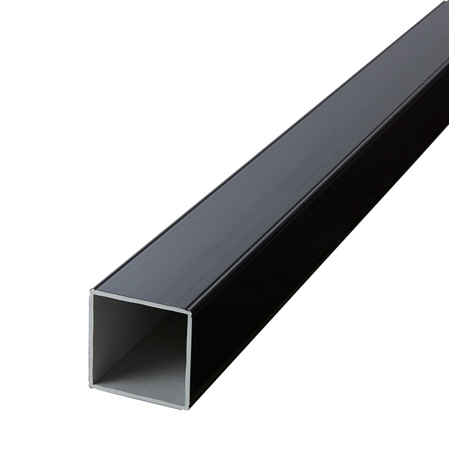 Fiberon (Fits Common Post Measurement: 4-in X 4-in; Actual: 4.1-in x 4.1-in x 108-in) Horizon Black Composite Deck Post Sleeve