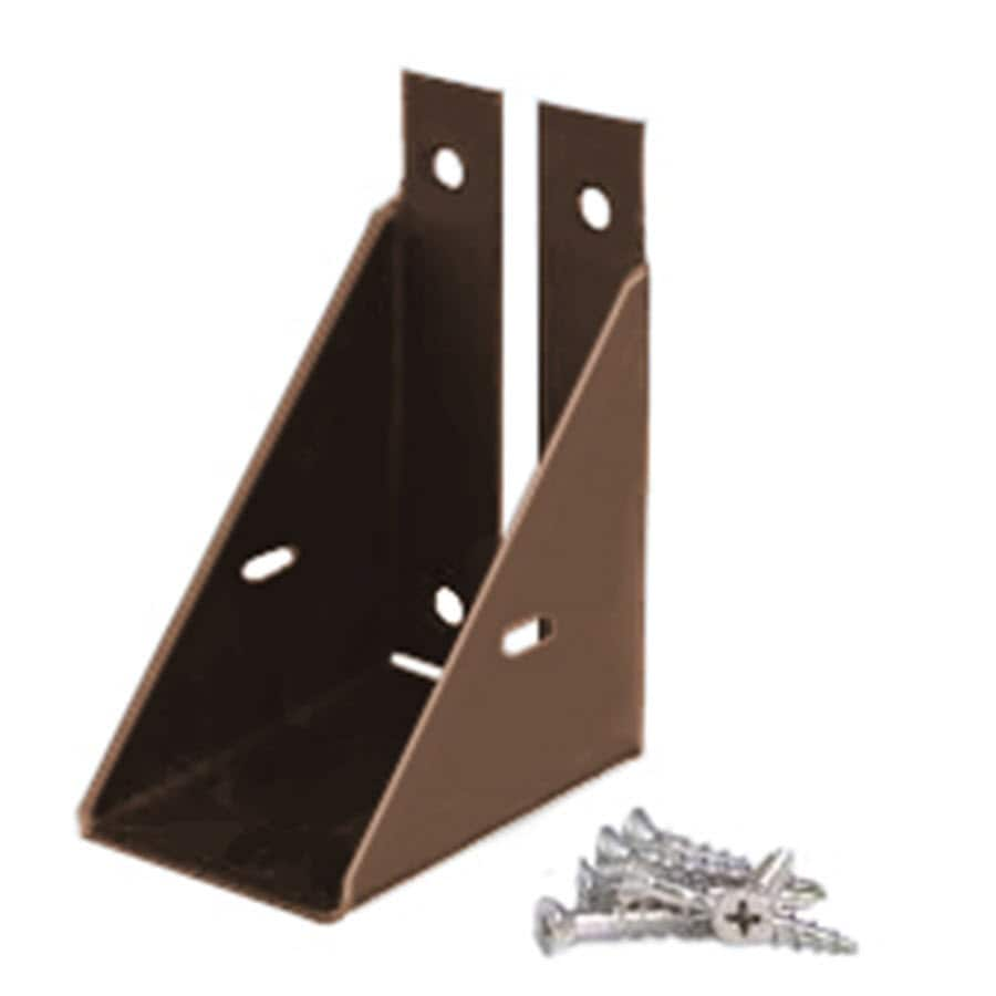 Fiberon Woodshades Rustic Cedar Stainless Steel Fence Bracket
