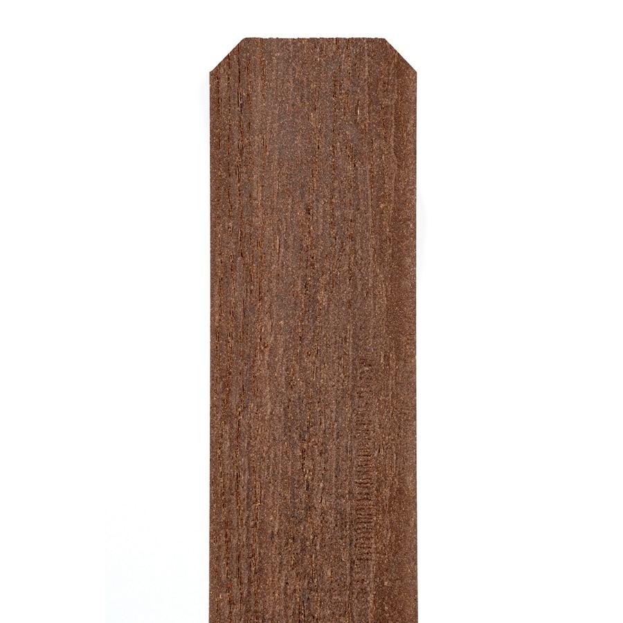 Fiberon (Common: 1/2-in x 3-1/2-in x 6-Ft; Actual: 0.44-in x 3.5-in x 5.75 Feet) Woodshades Rustic Cedar Composite (Not Metal)