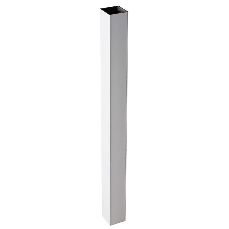 Fiberon (Fits Common Post Measurement: 4-in x 4-in; Actual: 4.1-in x 4.1-in x 39-in) Horizon White Composite (Not Wood) Deck Post Sleeve