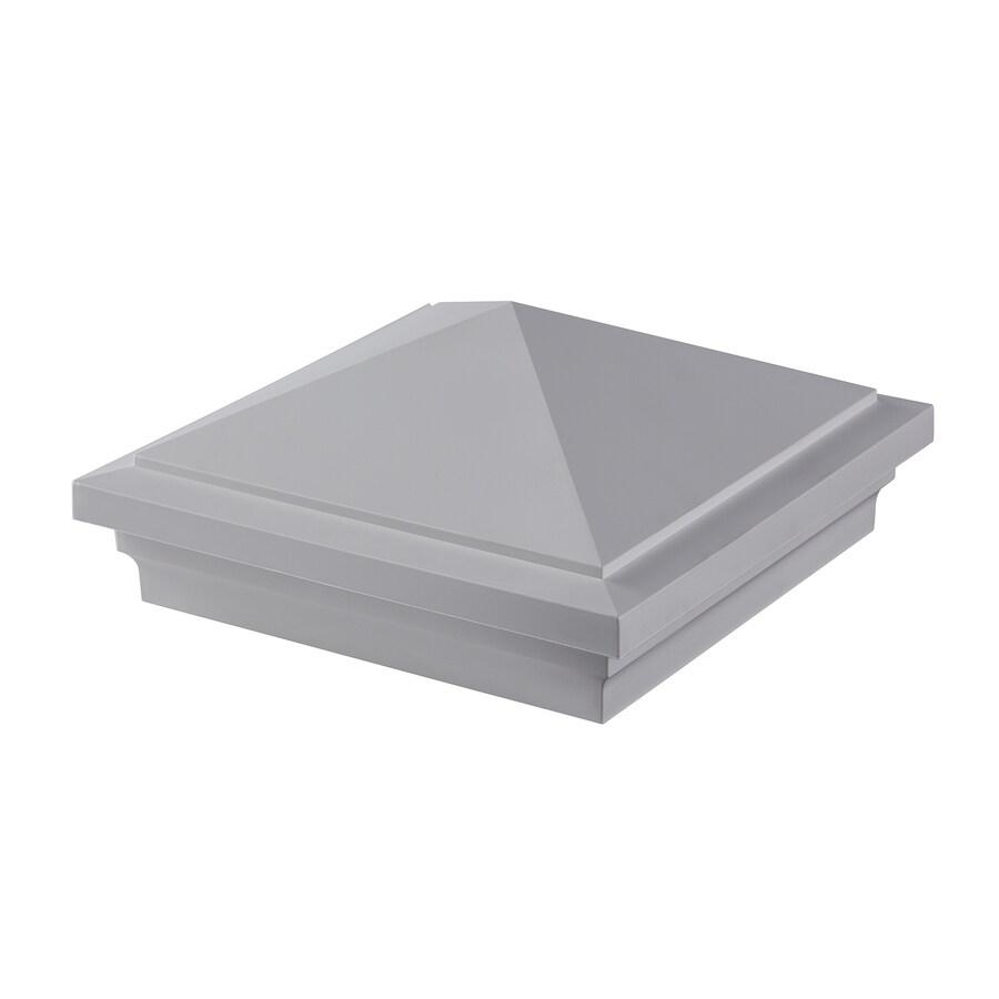 Fiberon Symmetry Tranquil White Unlit Pvc Deck Post Cap