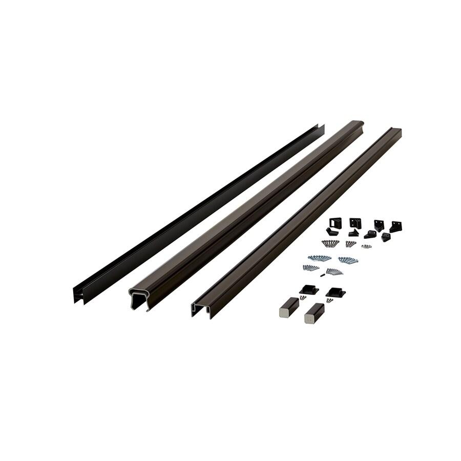 Fiberon (Assembled: 8-ft x 3-ft) Symmetry Tranquil White Composite Deck Railing Kit