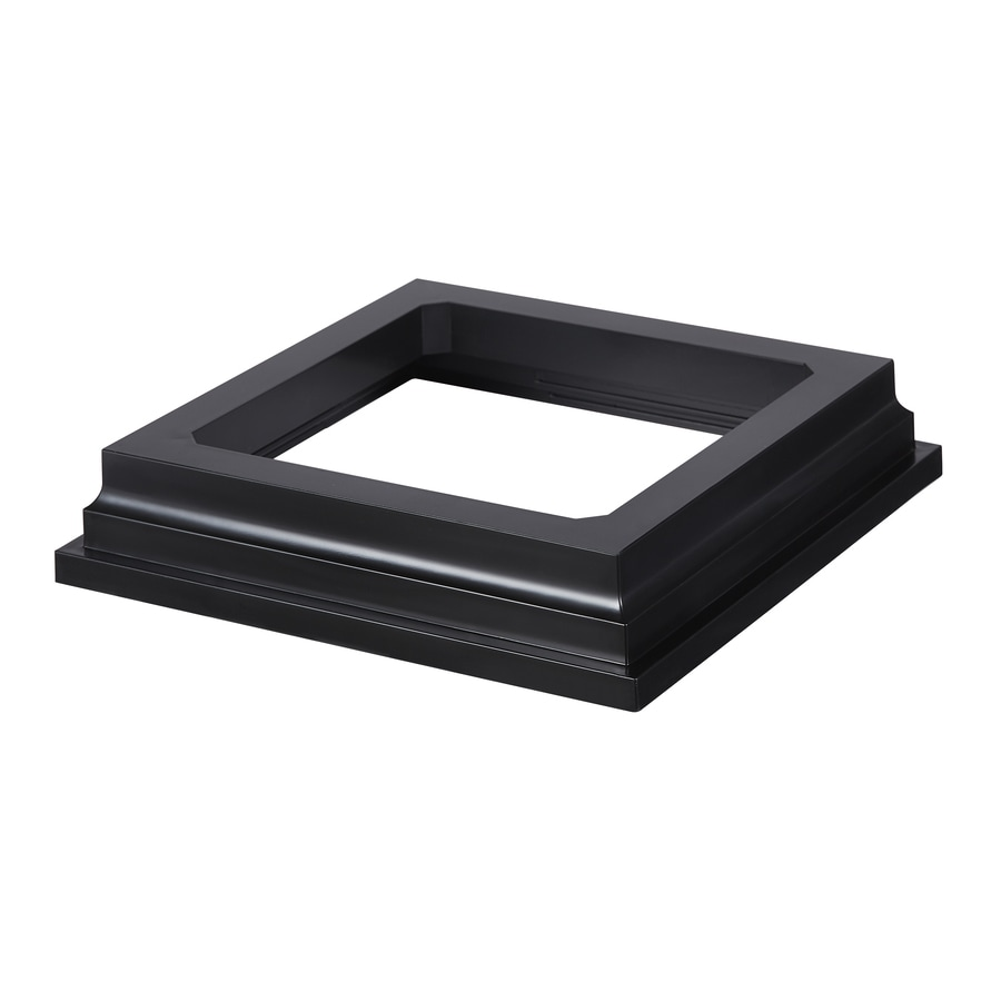 Fiberon Symmetry Serene Black PVC Deck Post Base Trim