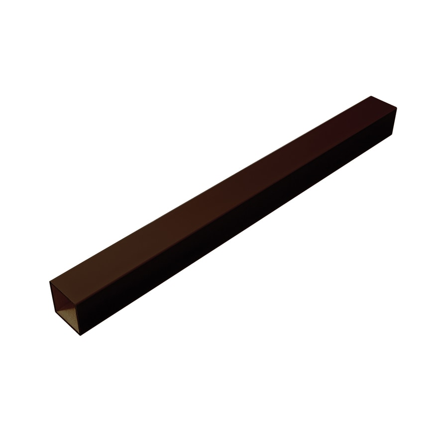 Fiberon (Fits Common Post Measurement: 4-in x 4-in; Actual: 4.1-in x 4.1-in x 48-in) Homeselect Chestnut Brown Composite (Not Wood) Deck Post Sleeve