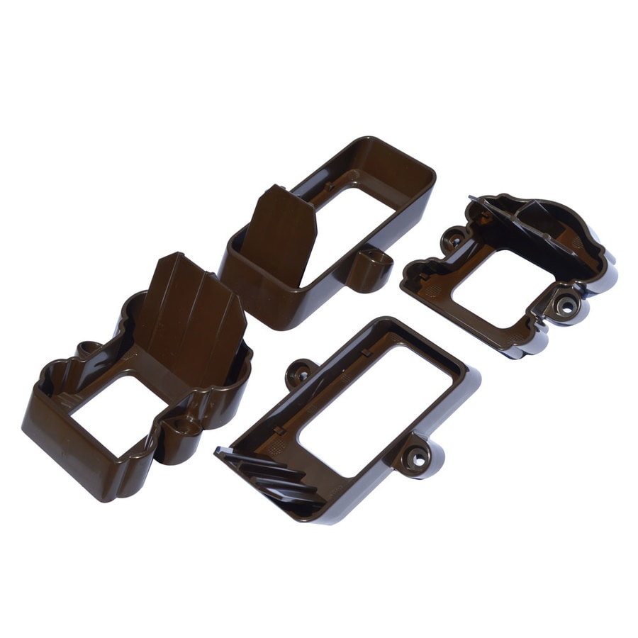 Fiberon 2-Pair Dark Walnut Classic Stair Bracket