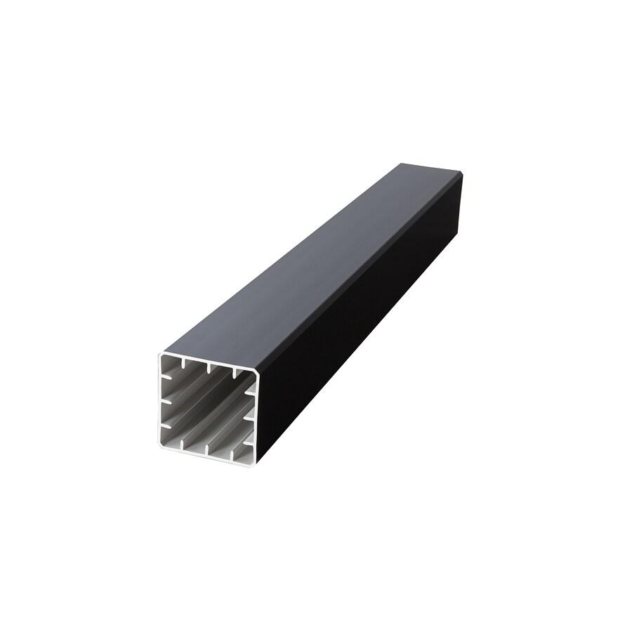Fiberon (Fits Common Post Measurement: 5-in X 5-in; Actual: 5.1-in x 5.1-in x 45-in) Symmetry Serene Black Composite Deck Post Sleeve