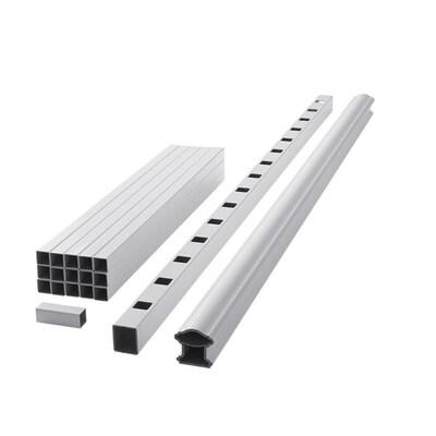 Fiberon (Assembled: 5 8-ft x 3-ft) Composite Railing White