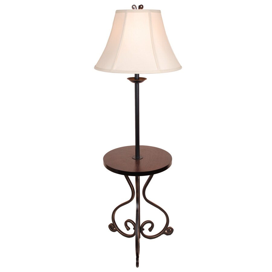 allen + roth 55-in Floor Lamp with Fabric Shade - Shop Allen + Roth 55-in Floor Lamp With Fabric Shade At Lowes.com