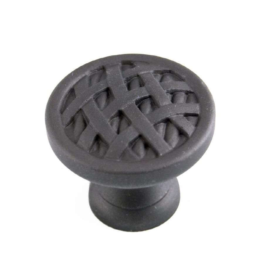 RK International Oil-Rubbed Bronze Round Cabinet Knob