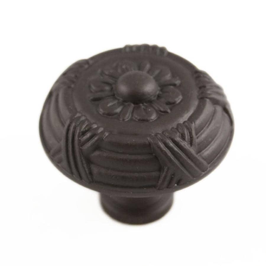RK International Oil-Rubbed Bronze Round Cabinet Knob