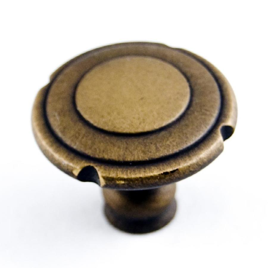RK International Antique English Round Cabinet Knob