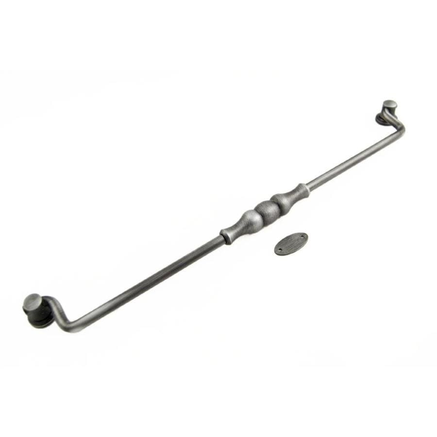 RK International 12-in Center-to-Center Distressed Nickel Bail Cabinet Pull