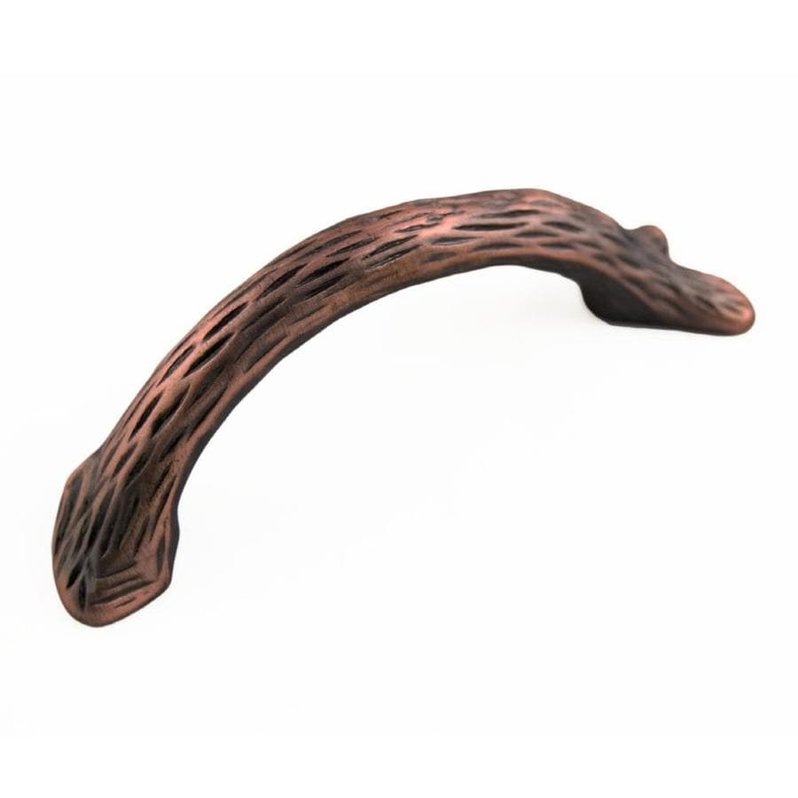 RK International 3-in Center-to-Center Distressed Copper Arched Cabinet Pull