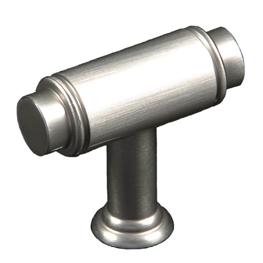 RK International Satin Nickel Rectangular Cabinet Knob