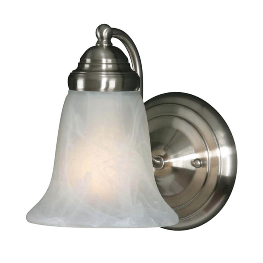 Collette 6.86-in W 1-Light Pewter Arm Hardwired Wall Sconce