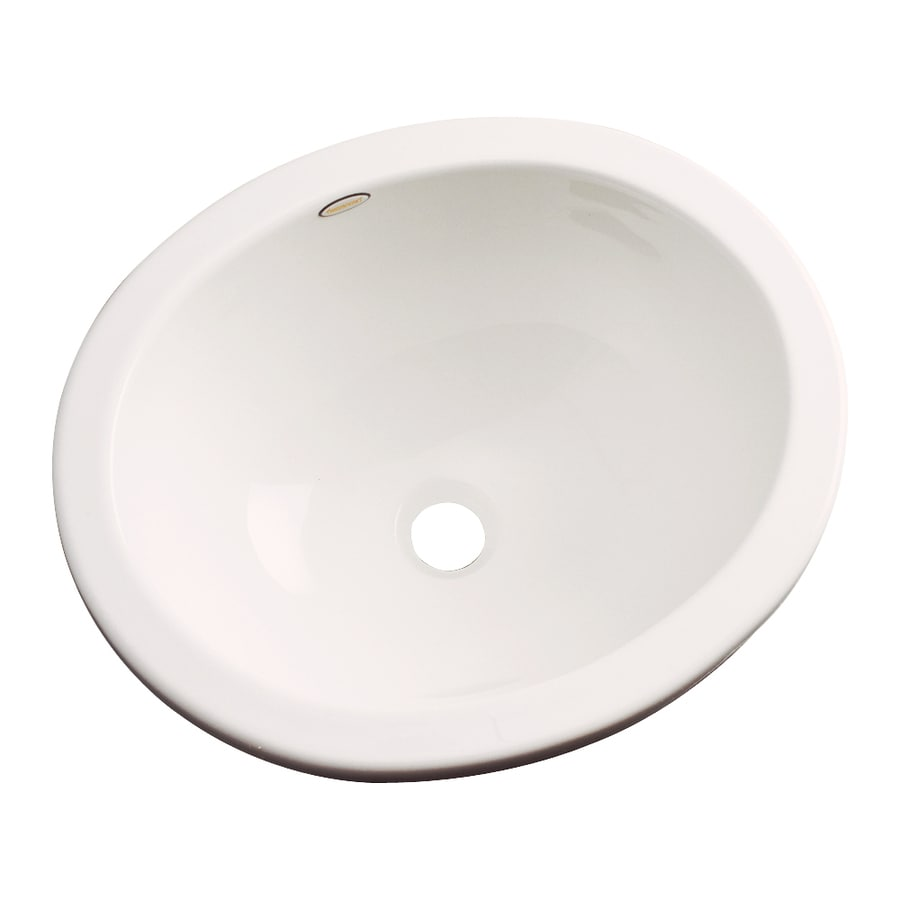 Shop Dekor Victoria Bone Composite Undermount Oval