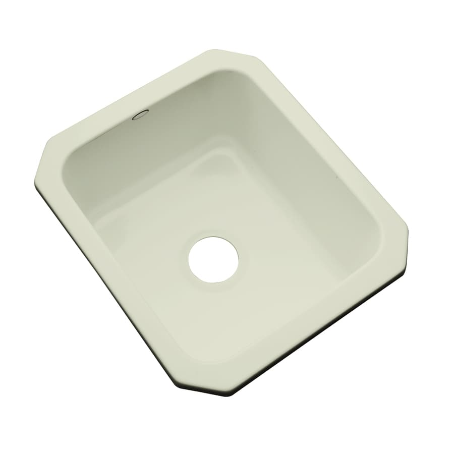 Acrylic Sink : ... Jersey Cream Acrylic Undermount Residential Prep Sink at Lowes.com
