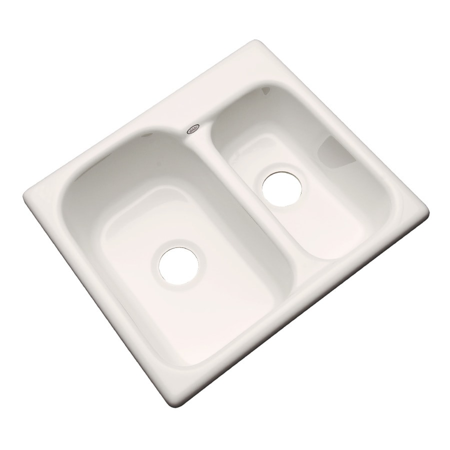 acrylic undermount kitchen sinks shop dekor master 21 in x 25 in bone basin acrylic 3980