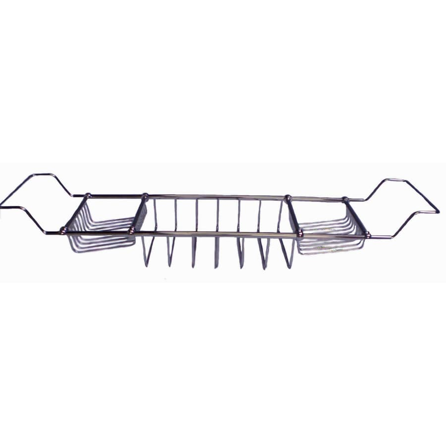 Sign of the Crab Polished Chrome Shower Wall Shelf
